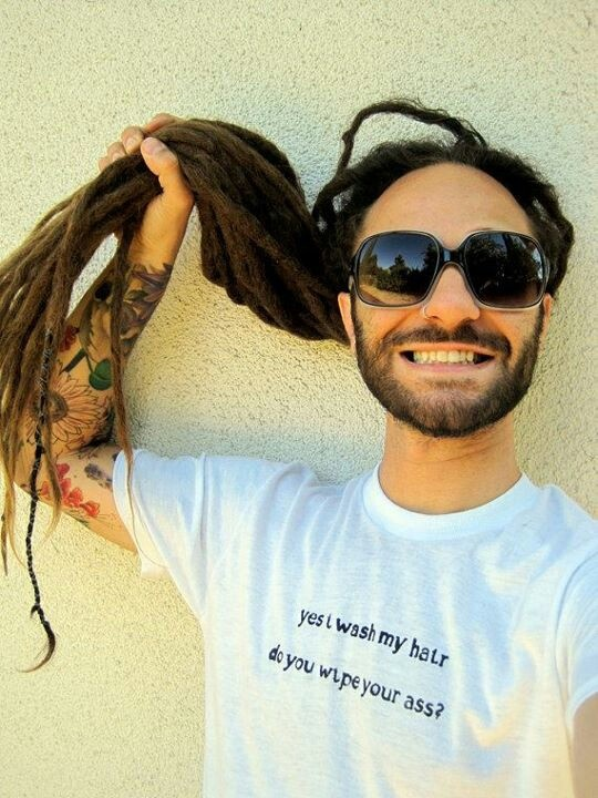 Dreadlocks (i want that shirt!)