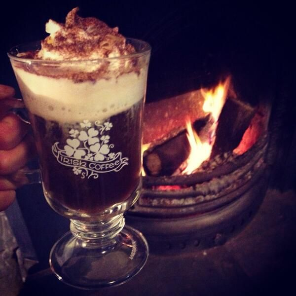 Irish Coffee in Blarney. Tweeted by @Amanda Kavanagh.