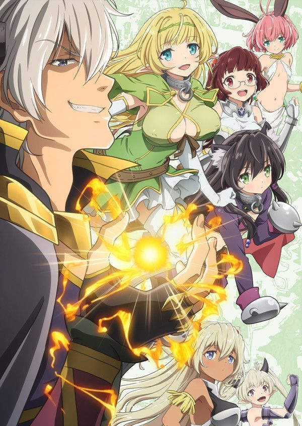 How Not To Summon A Demon Lord Anime Key Visual Anime Harem