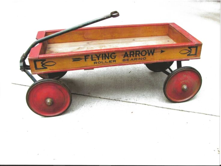 Old Fashioned Toy Wagons