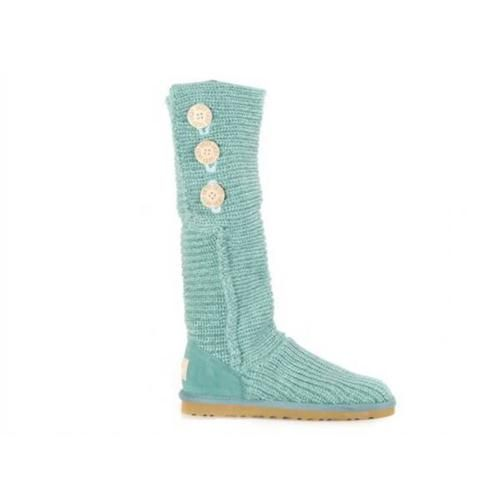 Latest Ugg Knit Classic Cardy 5819 Green Boots