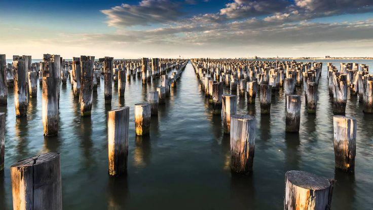 Sony A7 Time-lapse - Princes Pier, Melbourne