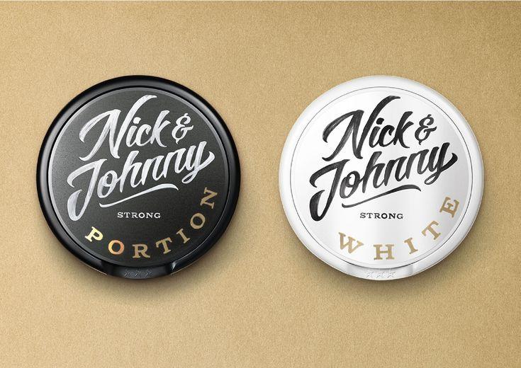 #snus #nick&johnny #packaging #design #packagingdesign #signpainter