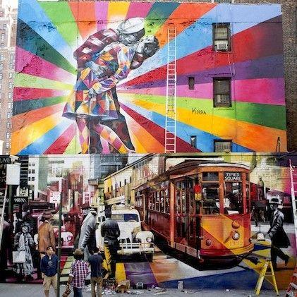 Murals by Eduardo Kobra