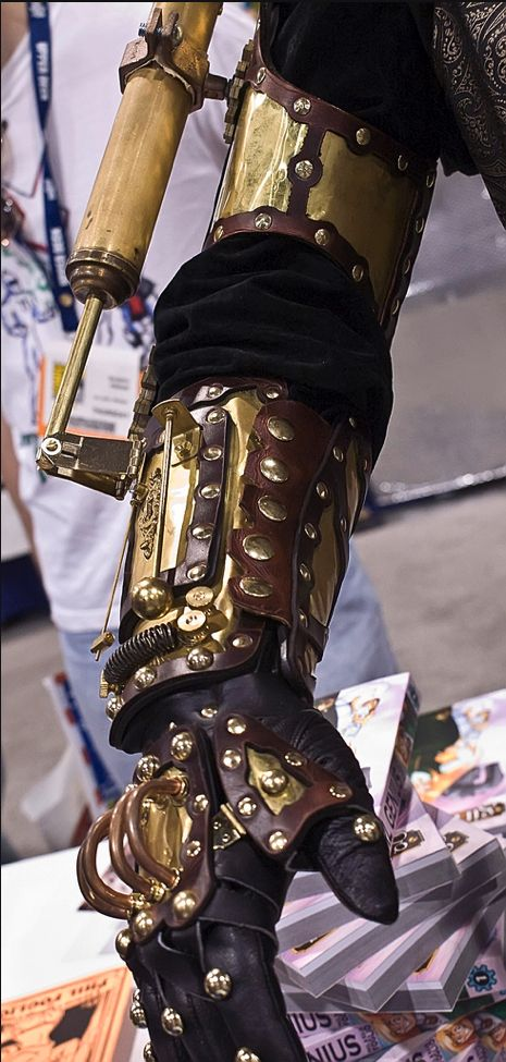 Steampunk arm.