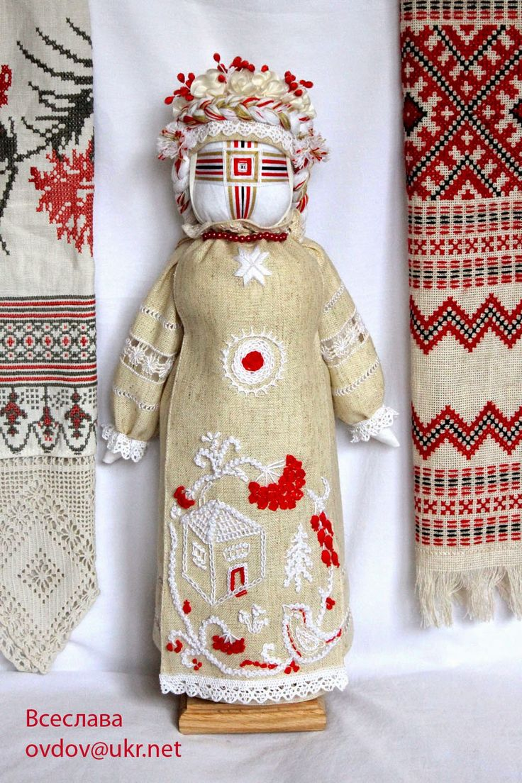 "FolkArtUA-motanka: Лялька ""Горобинка"""