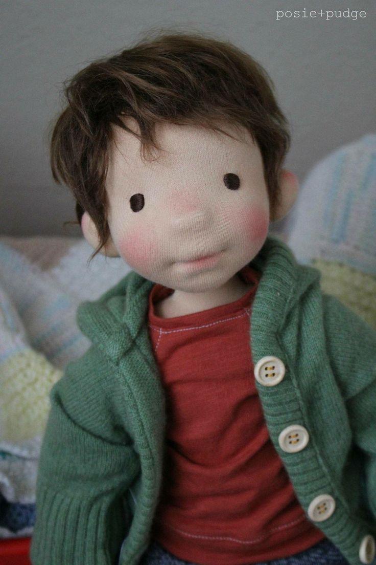 Beautiful boy doll