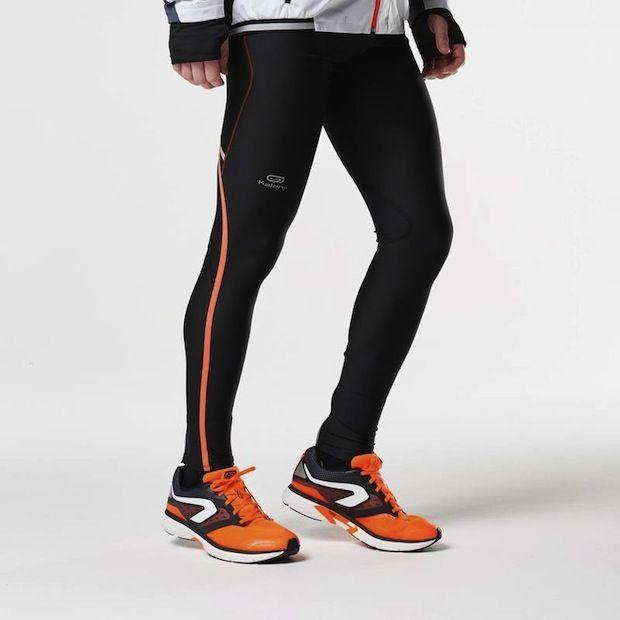 Collants running homme