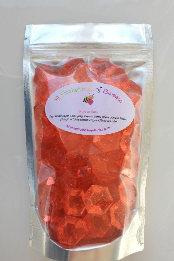 Ugly Jewels Barley Sugar Hard Candy Edible by APocketFullofSweets, $7.99