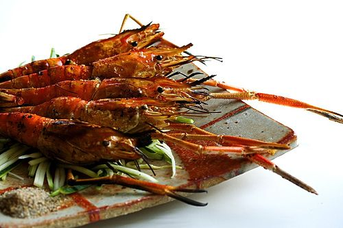 Grilled Prawns with Sichuan Peppercorn Salt | Recipe