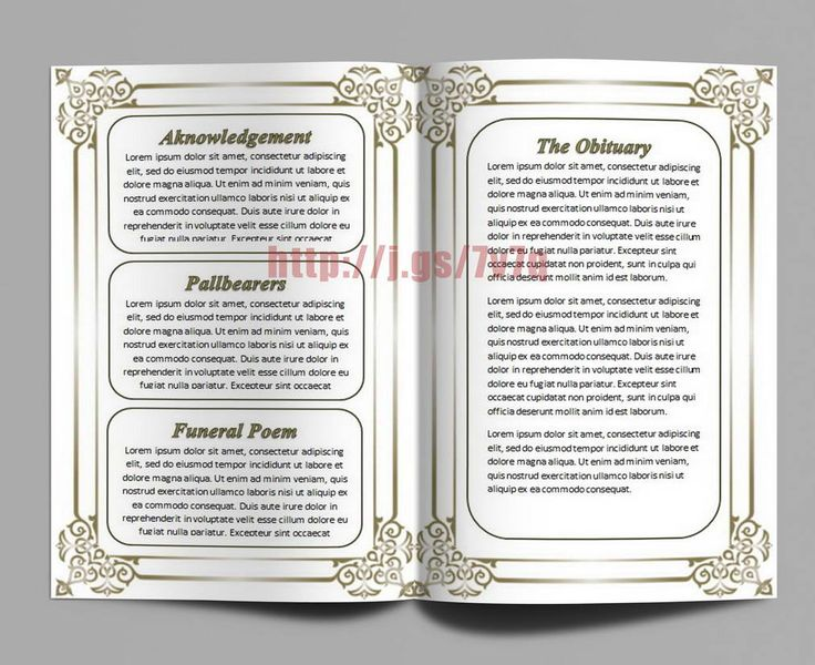 free editable funeral program template - editable funeral memorial program template with the