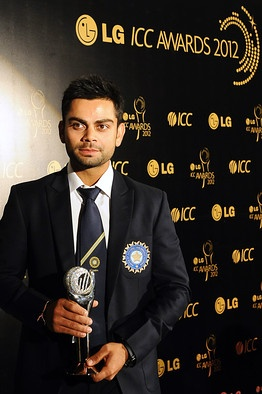 Virat Kohli Named ODI Cricketer of the Year - India Real Time - WSJ
