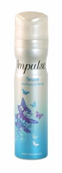 IMPULSE BODY FRAGRANCE BODY SPRAY 75ML TEASE