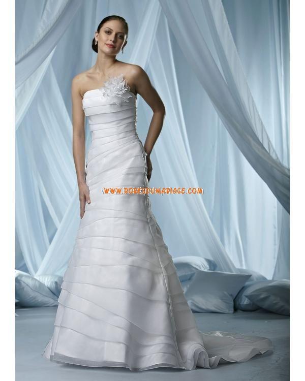 Robe de Mariée - Style 6166  robe de mariée simple et originale ...