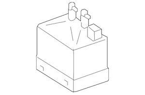 a genuine mercedes benz r350 vacuum pump 000 800 25 48