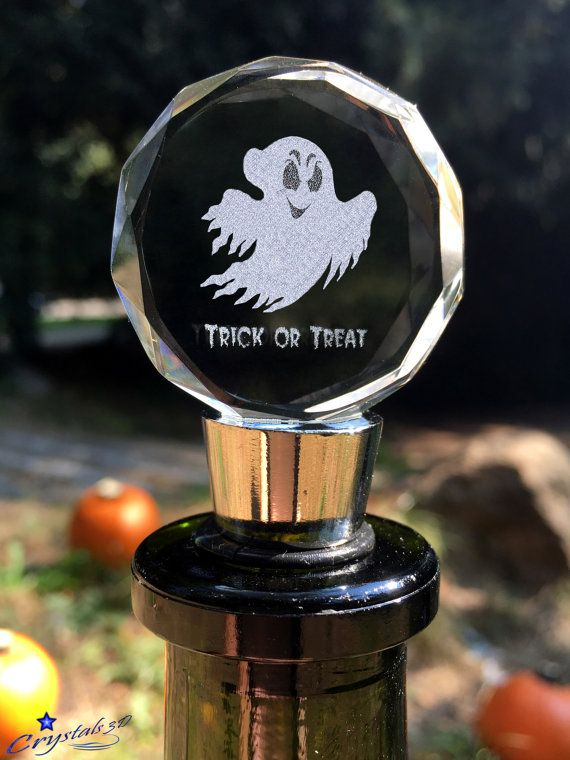 Halloween Halloween gift Halloween ghost by Crystals3DEngraving