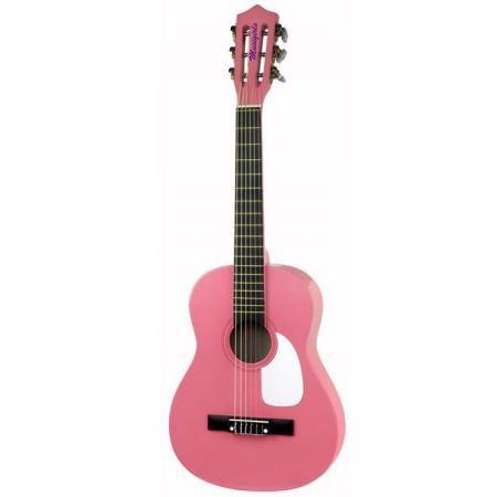 Musikids GP-2 1/2-model starterset klassieke gitaar roze