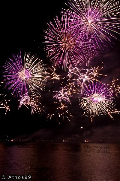 Fêtes de Genève : Feux d'artifice Pyromélodiques 2009 : galerie photo d'Athos99