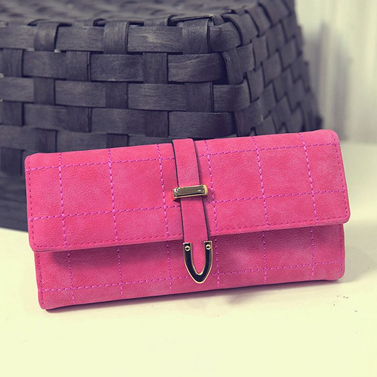 Carteras Mujer Korean Style Fashion Long Women Wallets Slim Leather Purse Elegant Ladies Evening Clutch Bag Walet Portefeuille #WOMENWALLETS #wallets #miniclutch