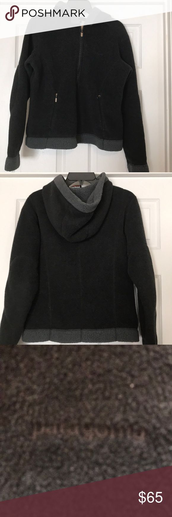 Patagonia Synchilla Jacket Size M black with gray trim. Great condition! Patagonia Jackets & Coats