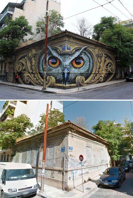 15 exemplos de como a Arte de Rua pode transformar a aparência de um bairro