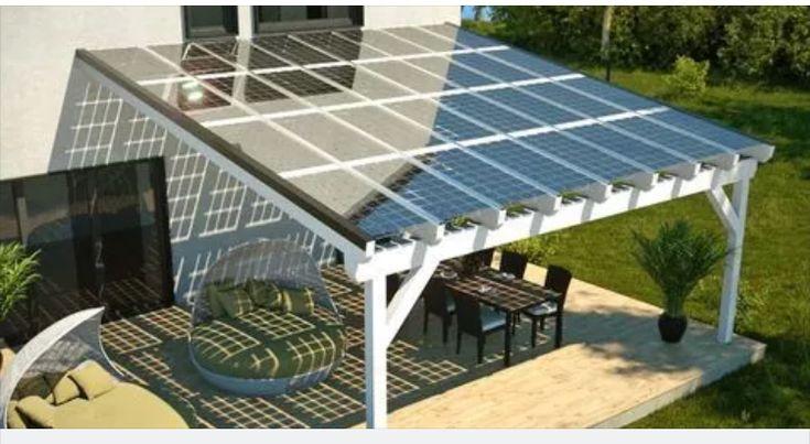 Great Solar Panel Idea Off The Roof Solar Patio Solar