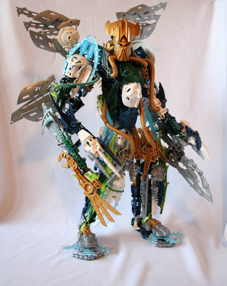 Bionicle MOC: Light Brother by Rahiden.deviantart.com