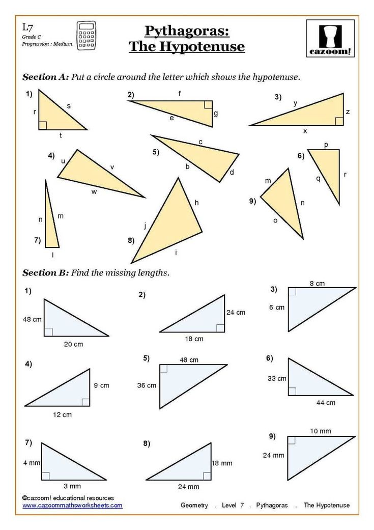Pin On Free Math Worksheets Similar triangles worksheets with