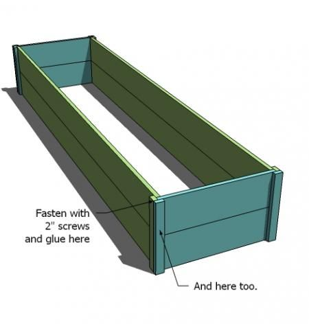 make your own raised beds