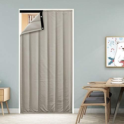 thermal insulated door curtain