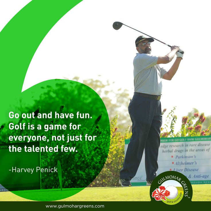 #GolfQuote Playing #golf is one the interesting #outdoorgames that can be played by everyone.