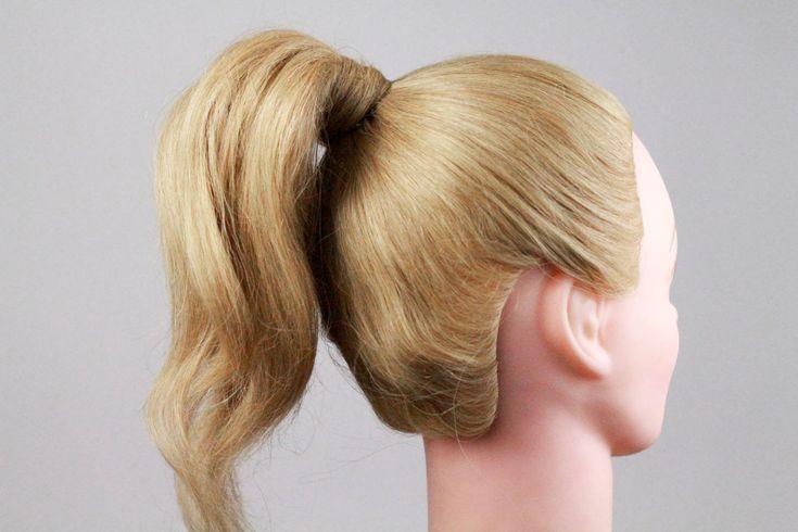 Как правильно сделать хвост из волос, самый удобный способ. How to do a ...