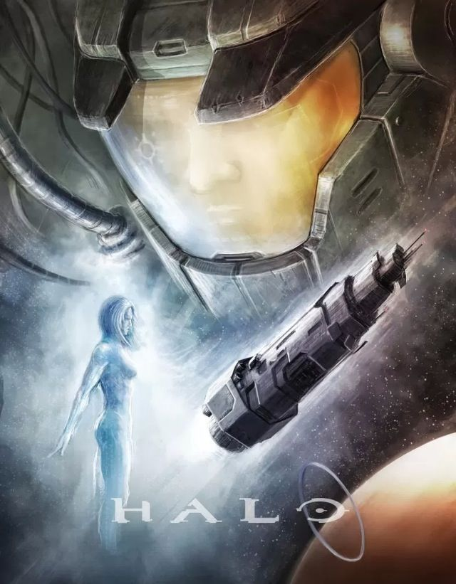 What do you guys think about - Art of the Day? Pinning a piece of Halo art everyday?