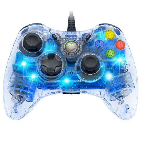 Afterglow Wired Controller for Xbox 360 - Blue - http://www.rekomande.com/afterglow-wired-controller-for-xbox-360-blue/