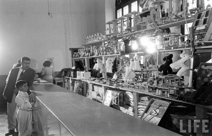 Comercio las tiendas de antaño