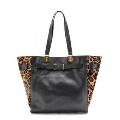 Christian Louboutin - SYBIL LARGE HAIRCALF TRIMMED TOTE #accessories #christianlouboutin #women #designer #covetme