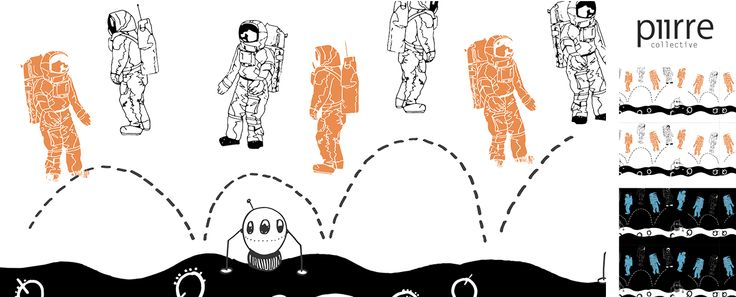 Piirre Collective [Astronauts Day Off by Heidi Hynynen]