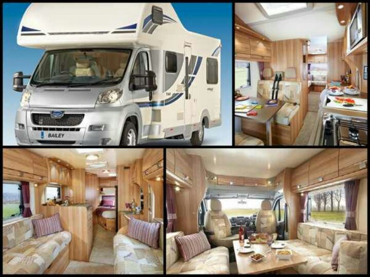 The Bailey Approach SE is powered by the Peugeot 2.2 Hdi 130 bhp engine complete with a 6-speed manual gearbox. Credit: Bailey Caravans