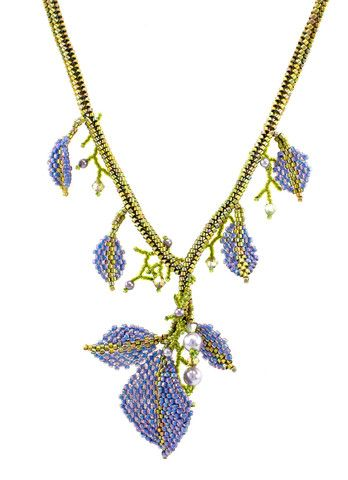 Falling Leaves Necklace Kit - Beads Gone Wild