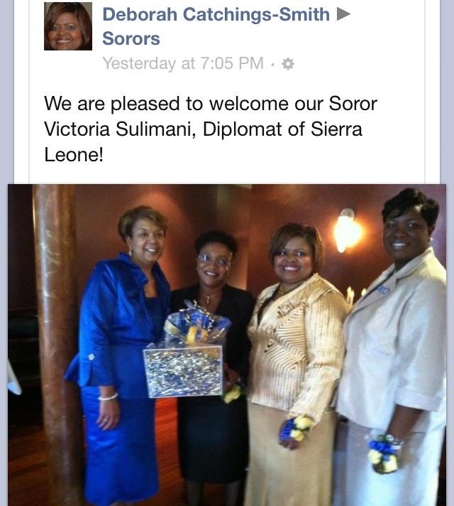 SGRHO and Sierra Leone!!