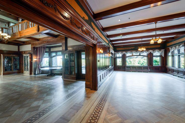 Langara and Kanakla rooms. http://cecilgreenpark.ubc.ca/  #weddings #vancouver #venues
