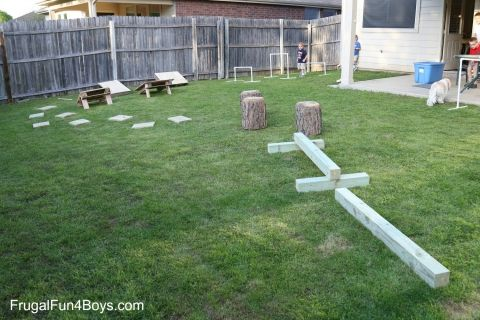 7 Best Diy Warrior Images On Pinterest Backyard Obstacle Course