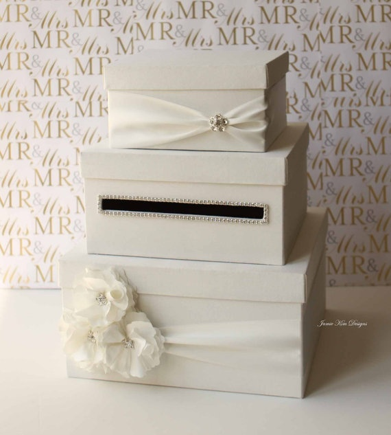 Wedding Card Box Money Box Gift Card Holder