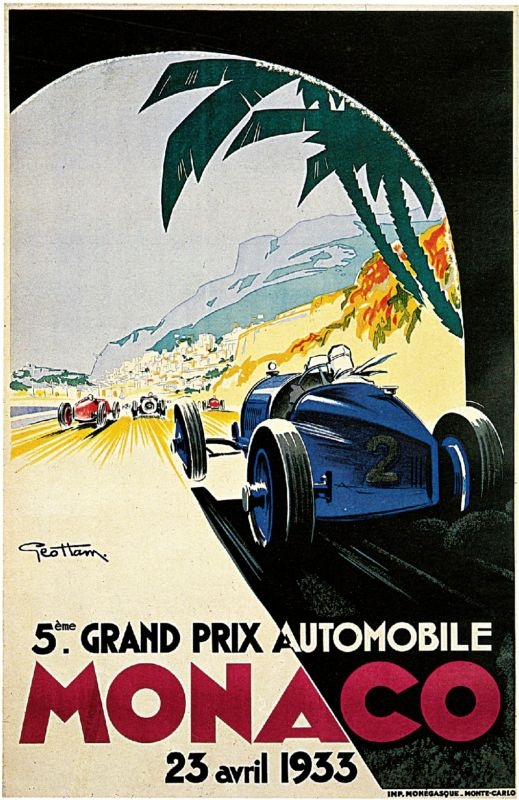 Geo Ham, 5th Grand Prix de Monaco, 1933