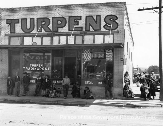 Turpen Trading Post, Gallup, New Mexico  Photographer: Robert H. Martin Date: 1948 Negative Number 041356