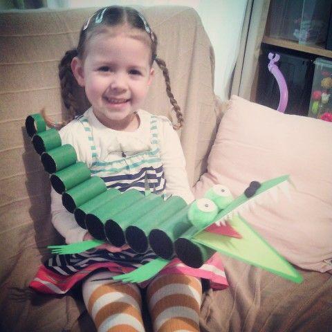 Crocodile girl!