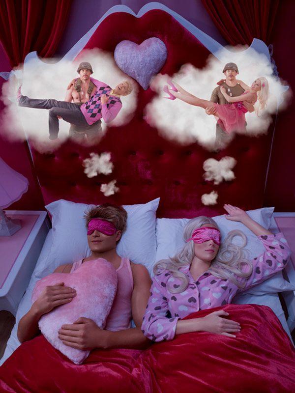 In the Dollhouse - Barbie & Ken