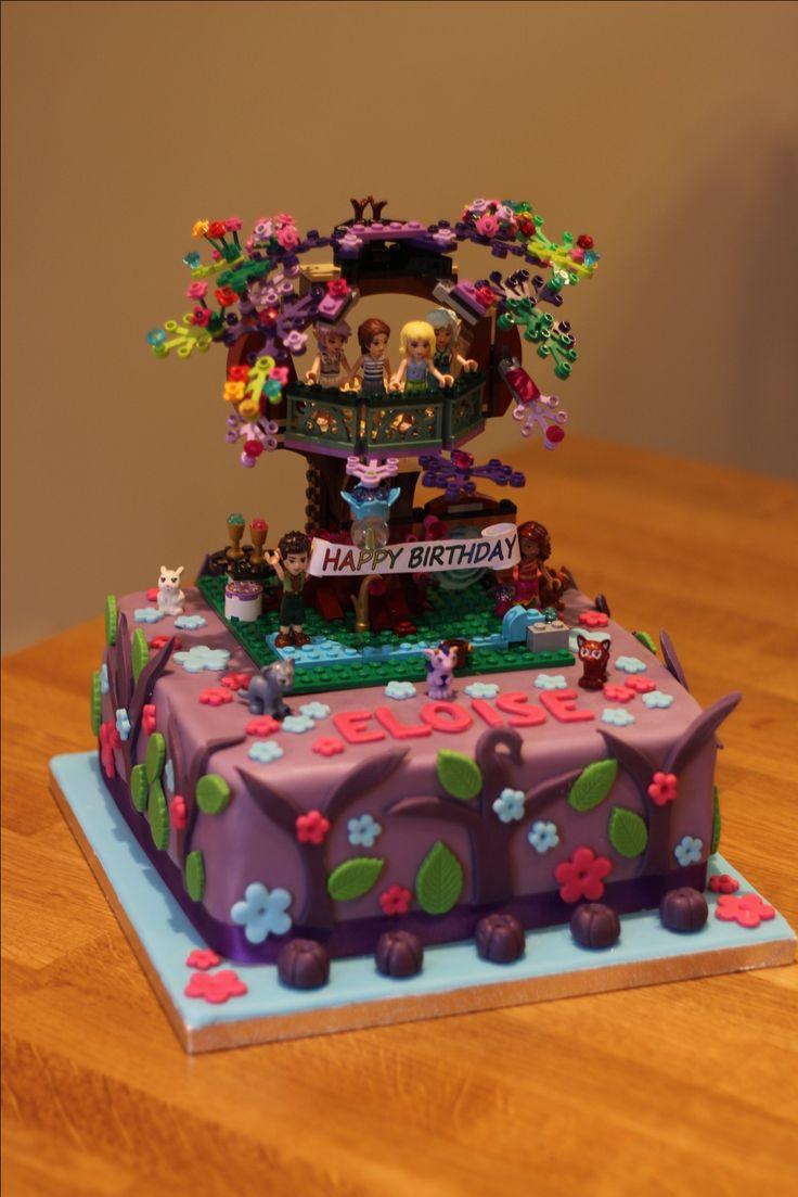 Lego Elves birthday cake