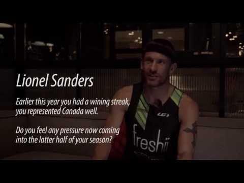 Video: Lionel Sanders talks racing pressure, his season, drafting and more - Triathlon Magazine Canada