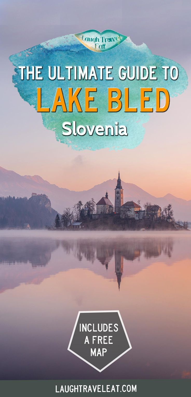Lake Bled is the most fairy tale like